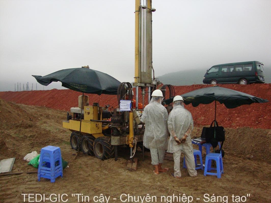 Thí nghiệm xuyên CPTu - Nhà máy nhiệt điện Nghi Sơn - Thanh Hóa