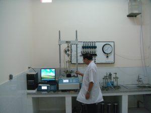 1. Chuẩn bị thí nghiệm (Máy nén 3 trục - Anh)